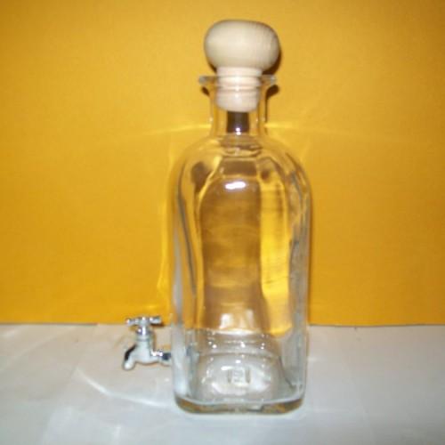 bottiglia litri 1 con rubinetto