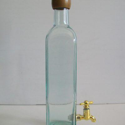 bottiglia 50 cl con rubinetto