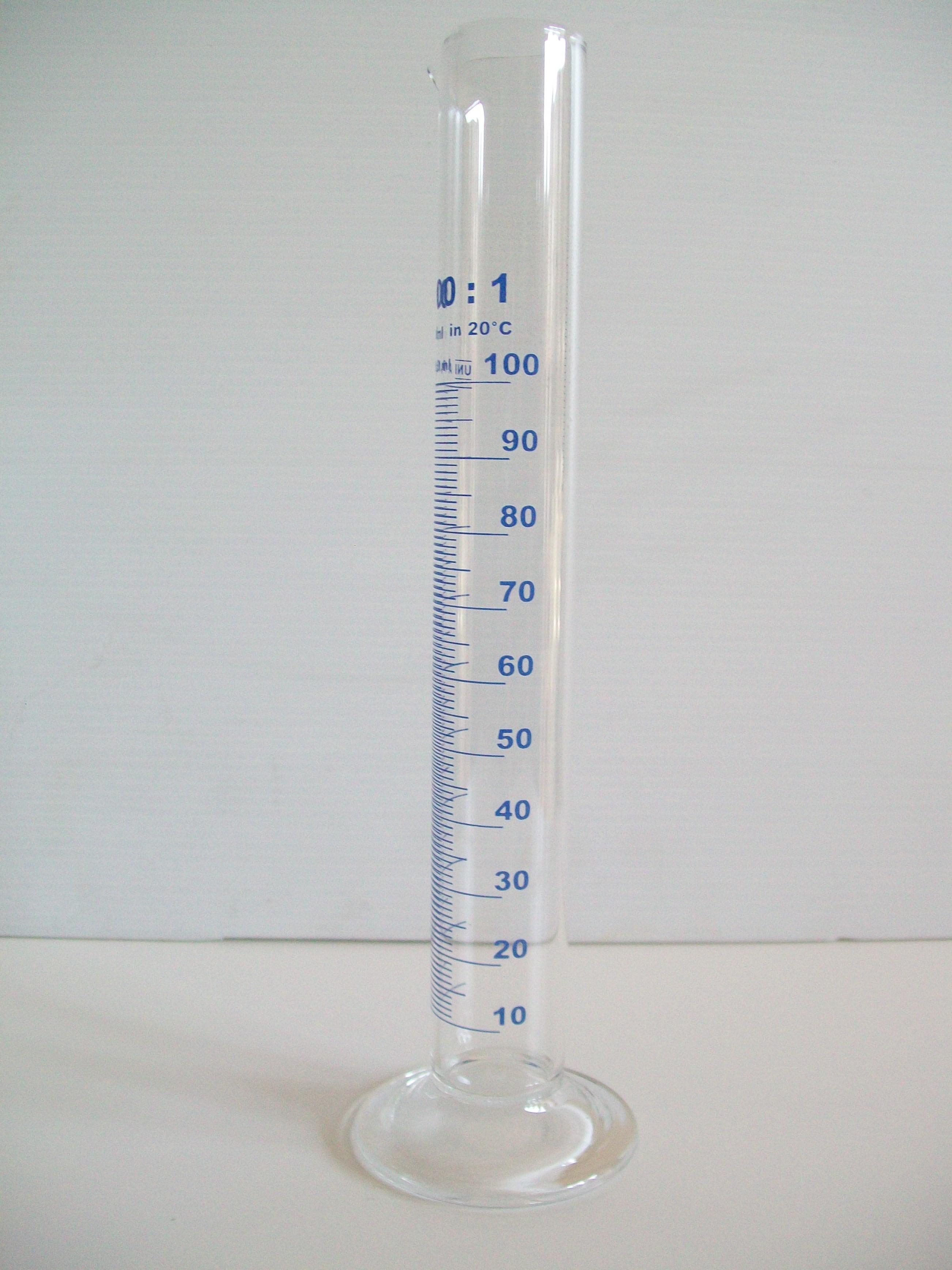 cilindro graduato 100ml