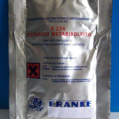 Metalbisolfito di Potassio - confezione da 1 Kg.