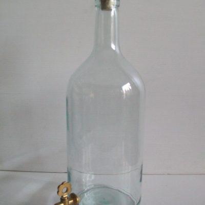 bottiglia litri 2 con rubinetto