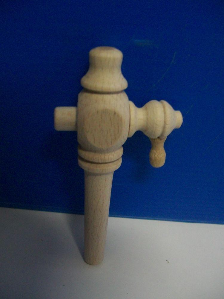 rubinetto legno