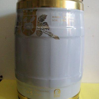 Contenitore birra lt 5.