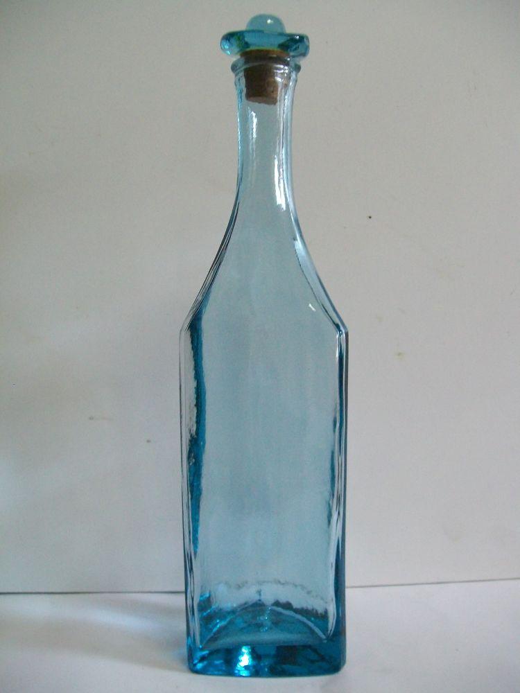 bottiglia cowboy azzurra.