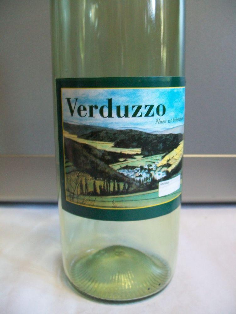 Etichette vino verduzzo.