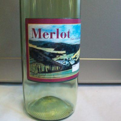 Etichetta vino merlot