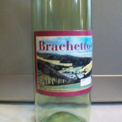 Etichette vino brachetto.