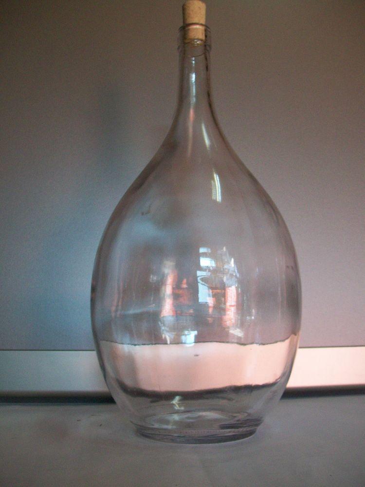 Bottiglia fiasco lt 3.