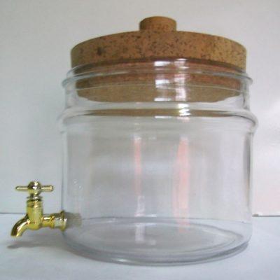 Vaso lt 2.5 con rubinetto.