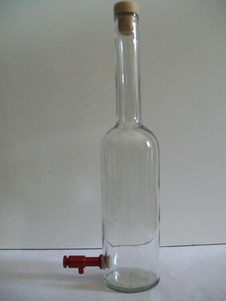 Rubinetto a pressione bottiglia.