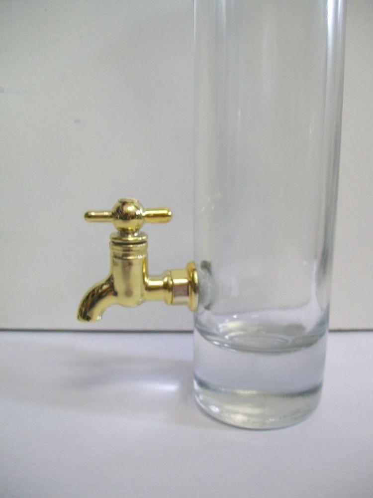 Bottiglia 20 cl rubinetto.