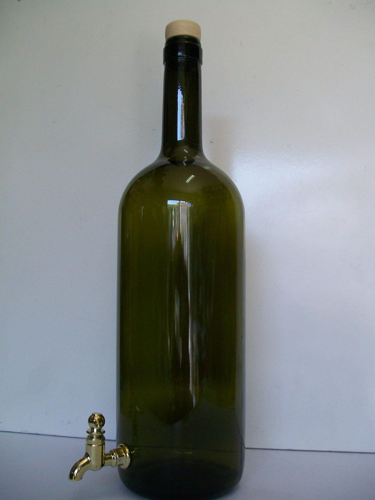 Bottiglia lt 1.5 rubinetto.