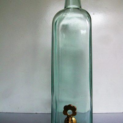 Bottiglia rubinetto ottone.