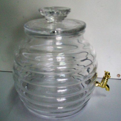 Contenitore vetro 250 cl con rubinetto